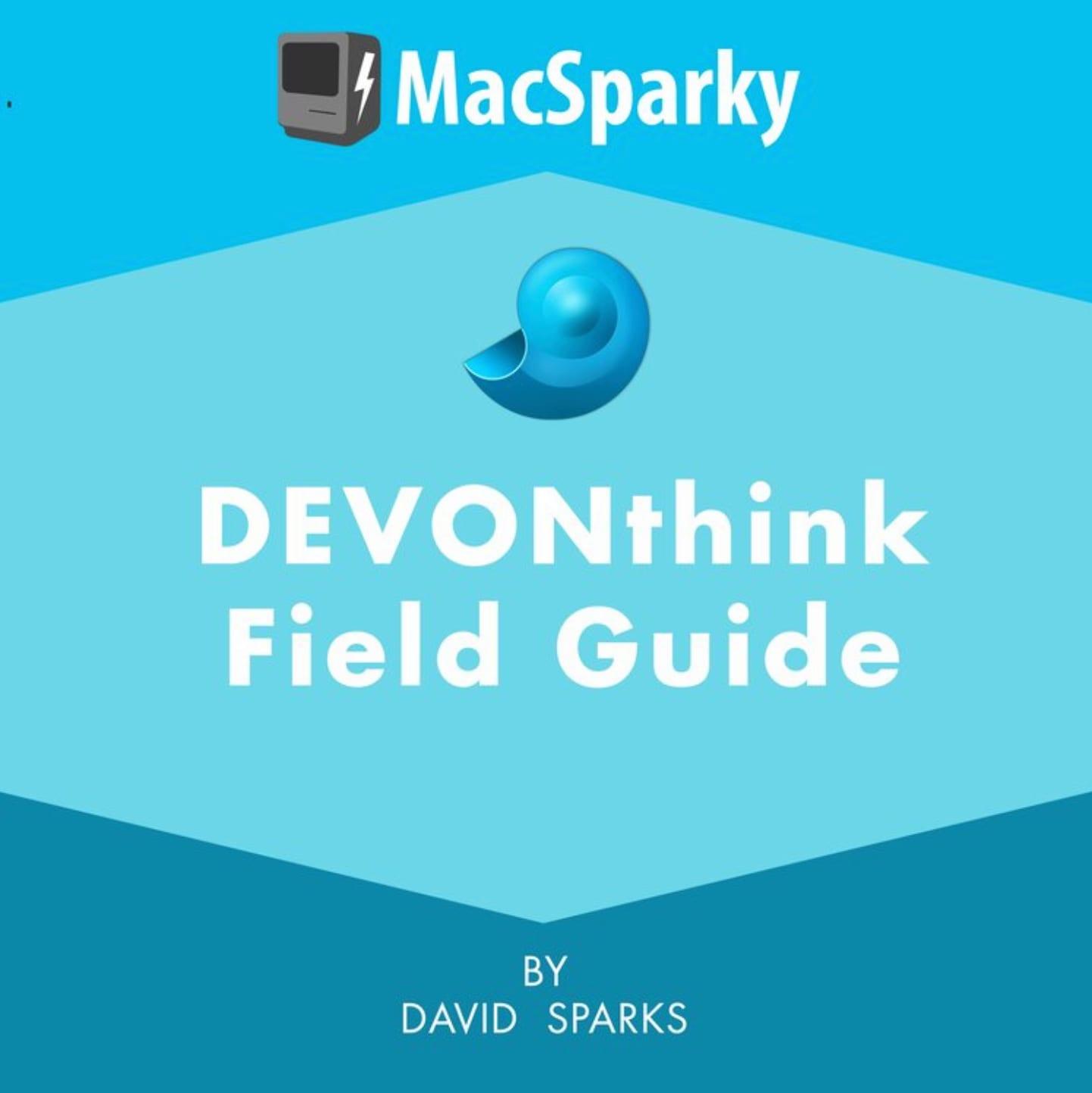 MacSparky Field Guide illustrative picture.